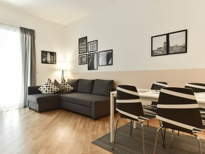 Photo for Vatican Rome apartment in Cipro with WiFi, air conditioning, balcony & lift.