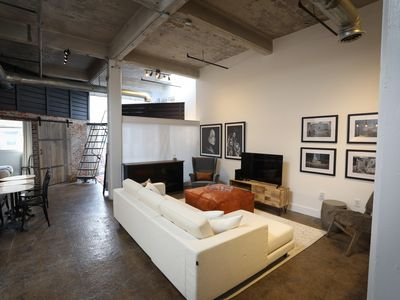 Photo for Stylish Loft Featuring Artists' Work