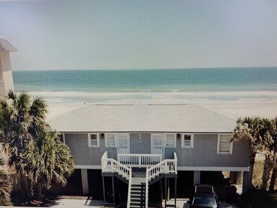 Oceanfront cottage with WOW views and on the BEACH!!!