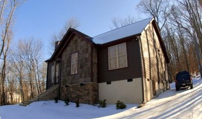 Photo for Great Location Lovely Newer House 200 Yards Walk To SKI SLOPE!!!!!!