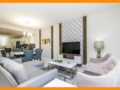 Photo for Storey Lake Resort 107 - Modern condo with private terrace near Disney
