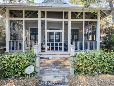 Photo for Beautiful Vacation Home in Heart of WaterColor - Sleeps 10, Beach + Pool Close!