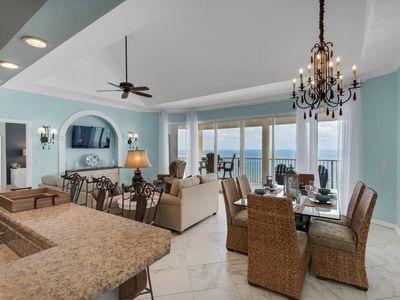 Photo for EXQUISITE PENTHOUSE 2-BEDROOM CONDO WITH BEACH CHAIRS FOR TWO