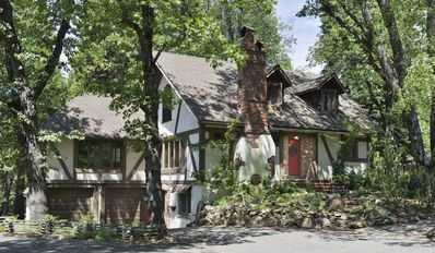 Photo for Enchanting Tudor Home Set In Tall Forest - High End Amenities