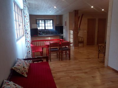 Photo for Large apartment 55 m² with garden 5 people in saint-lary village