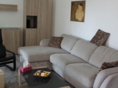 Photo for Сlean and bright apartment, family friendly