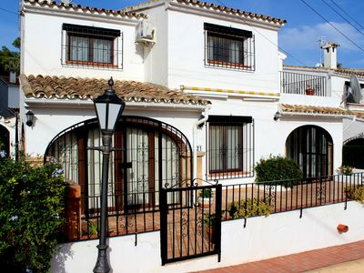 Photo for Charming Villa in Moraira, Communal Pool & Sea View