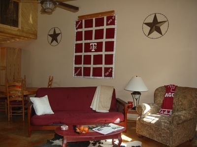 Photo for Rustic Country Barndominium - Close to Aggieland