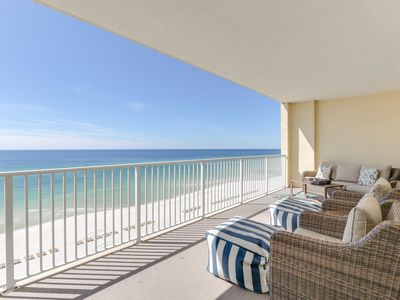 Photo for Newly Updated * Gulf Front * Extra Large Balcony *High Speed Wifi * BEST Reviews