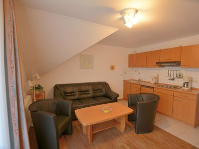 Photo for Bright and friendly apartment with south-facing balcony for 4 people, with dog possible