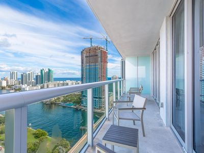 Photo for Panoramic Views 1 bdr at Beach Walk 27th Floor