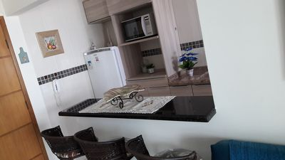 Photo for Apartment with view of the beach, facing the sea
