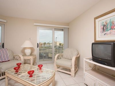 Photo for Aquarius 201 - Cozy Condo, Incredible Sunset Views over the Laguna Madre Bay from Private Balcony