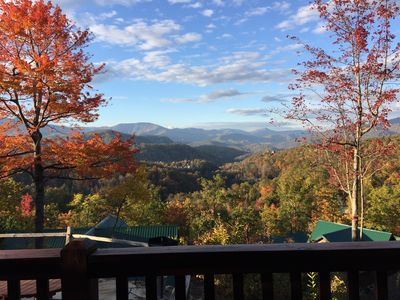 BREATHTAKING PANORAMIC VIEWS FROM DECK!