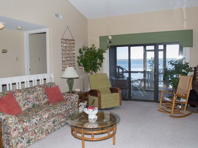 Photo for Soundfront Condo with great views of Bogue Sound!