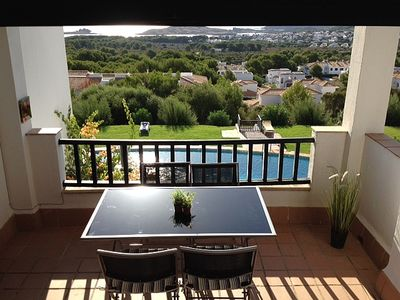 Photo for Maisonette with Shared Pool and Panoramic Sea Views