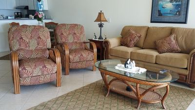 Photo for Full Ocean View 2 bedroom 2 bath Condo on the Kona Coast. Sea Village Unit 2204