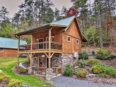 Photo for 2BR Cabin Vacation Rental in Weaverville, North Carolina