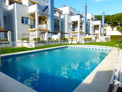 Photo for LORD BYRON APARTMENT- 3 bedrooms- Community pool and gardens