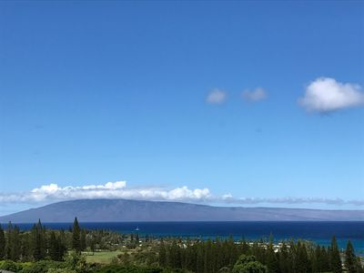 Welcome to Kapalua Resort with one of the BEST views of the Island of Lanai!!