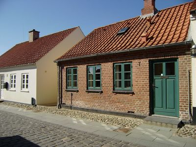 Photo for 60 m2 lovely city house near the harbour. Close to Jesperhus Feriepark. Wi-fi.