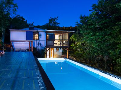 Photo for Affordable St John Cottage with a Pool, AC & Amazing Tropical Gardens