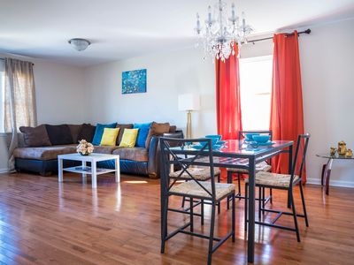Photo for NEWLY BUILT, 5 min from EWR! 25 min train to NYC,  Great for GROUPS & LONGTERM
