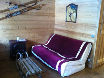 Photo for Apartment Center Station Valmorel 4 people skis just renovated