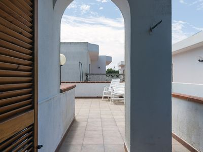 Photo for Holiday apartment with large balcony and near the coast