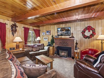 Photo for Sonoma Ski Cabin: Awesome Moonridge Location with Bear Mtn Views! Walk to Shuttles! Hot Tub!