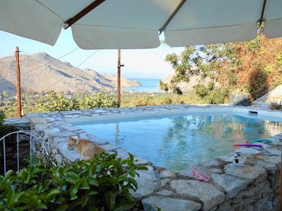 Photo for Symi Island Villa Panorama, luxury retreat for a couple or a family