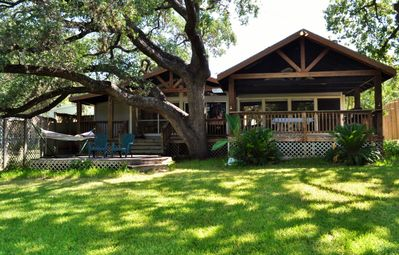 Experience the best of Burnet at this waterfront vacation rental home!