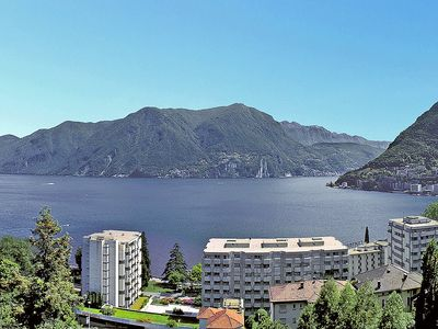 Photo for Apartment in the center of Lugano with Lift, Parking, Balcony (48291)