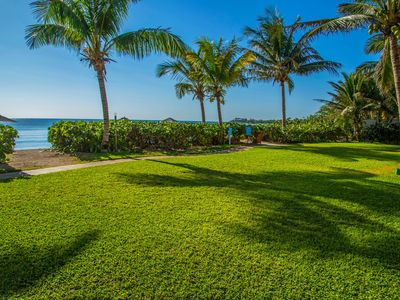 Photo for Oceanfront Spacious Condo Pool and Hotel Amenities Tulum Akumal 303