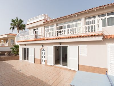 Photo for Beautiful  luxury  spacious 4 bed villa with sea views and private secluded pool