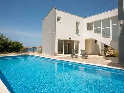 Photo for Beachfront Villa Orion with Pool