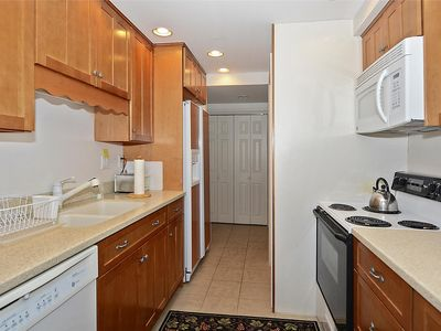 Photo for Cool colors with a beautifully remodeled kitchen and baths greet you in this 1050 sq ft unit with ocean views from every room.