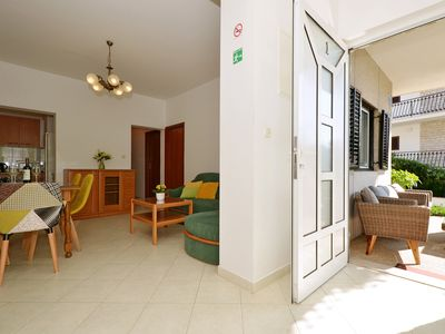 Photo for Apartments Mira 1 Trogir / sea view