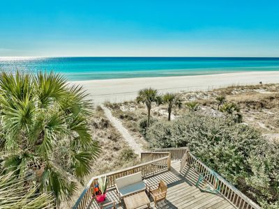 Photo for Renovated Gulf Front Home with Endless Gulf Views `Casa Blanca`