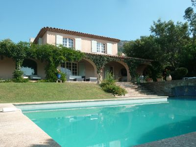 Photo for Gulf of Saint Tropez - Beauvallon - 6 bedrooms