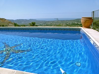 Photo for This 1-bedroom villa for up to 2 guests is located in Moraira and has a private swimming pool.......