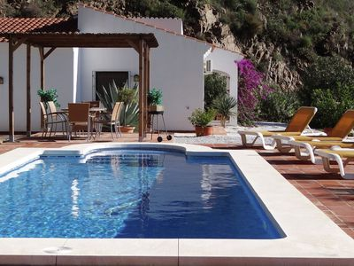 Photo for Villa with ensuite bathrooms, private pool and stunning views, 10km from sea