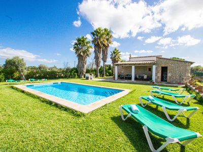 Photo for This 3-bedroom villa for up to 6 guests is located in Pollensa  and has a private swimming pool.....