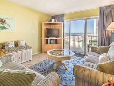 Photo for 4th Floor Cozy Condo w/ Steps From The Beach, Convenient To Shopping