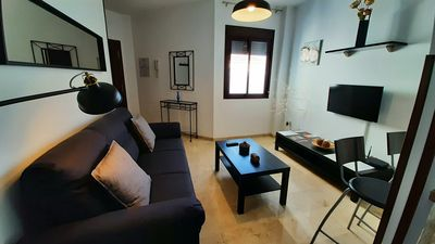 Photo for Apartment in the center, parking + Wifi.