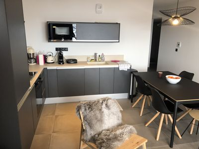 Photo for Arc 1800 - Superb apartment heart station and ski at the feet