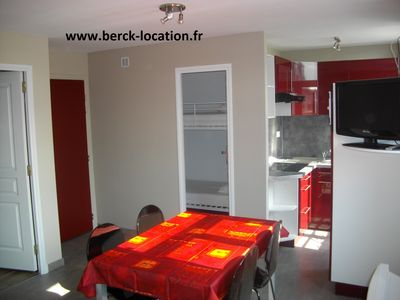 Photo for Appart n ° 3 exceptional location (center of Berck-Plage - 300m from the beach)