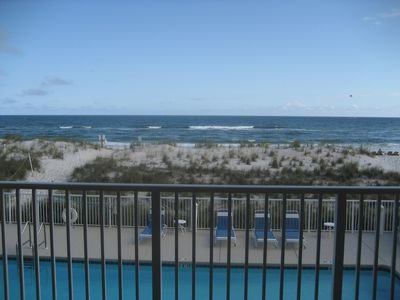 Photo for Gulf Shores Beach Front 3 Bed 3 Bath