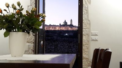 Photo for Exclusive stone house with a splendid view of the historic center of Locorotondo