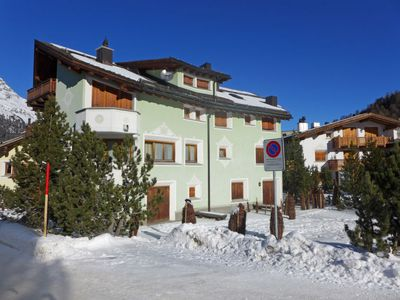 Photo for Apartment Chesa Vadret Surlej  in Silvaplana - Surlej, Engadine - 3 persons, 1 bedroom